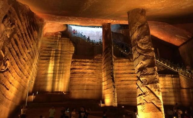 da li su zagonetne longyou pećine, napravljene korištenjem drevne tehnologije anunakija?
