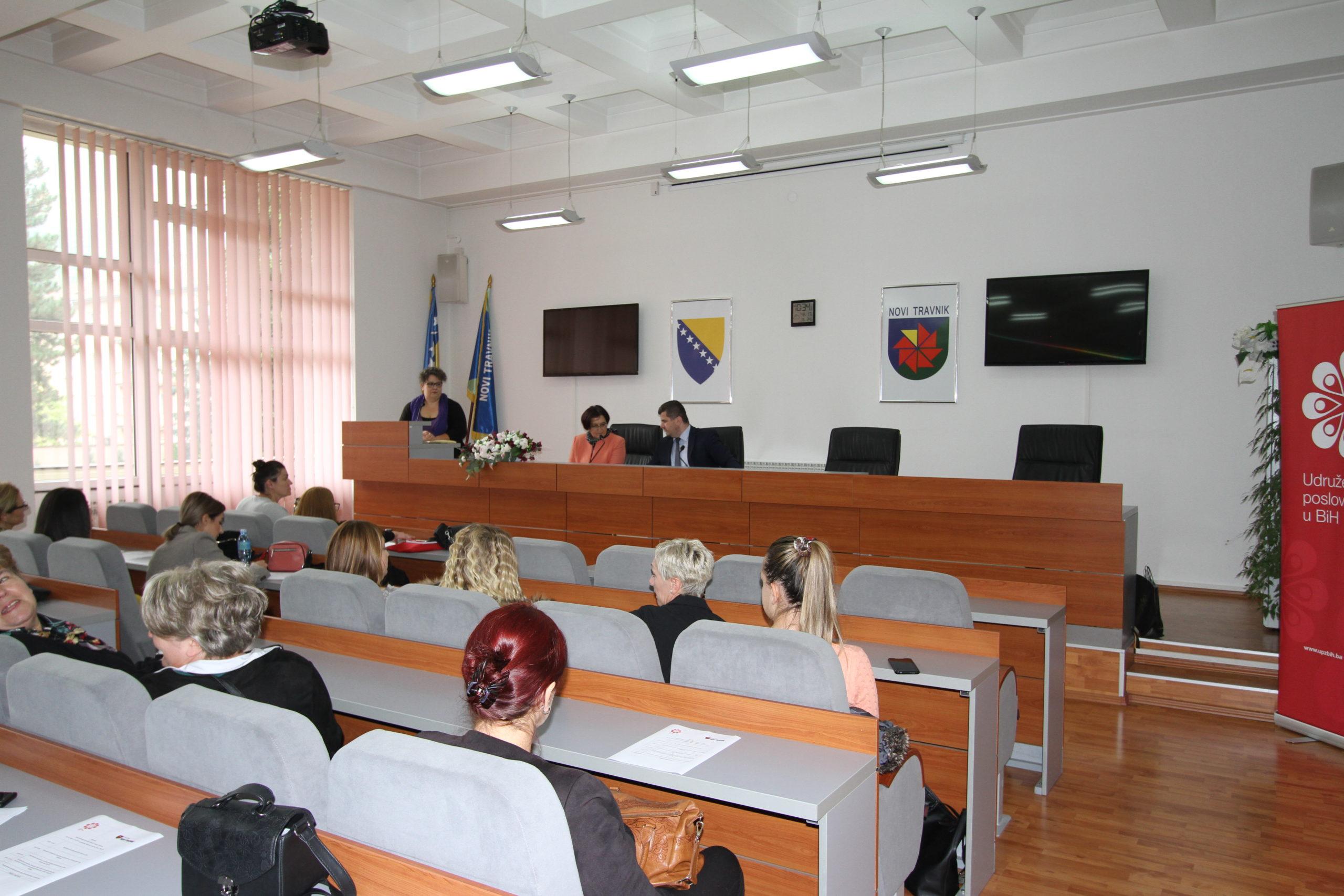 (VIDEO) Održano savjetovanje za poduzetnice iz Novog Travnika